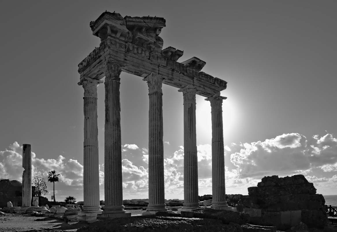 Apollo-Tempel Side/Türkei